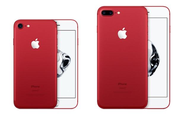 Baru! Apple Hadirkan iPhone 7 Warna Merah – Jagat Gadget