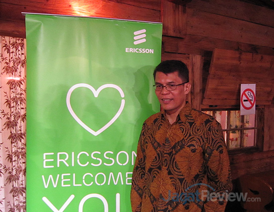 Ronni Nurmal, Vice President, Head of Network Product Uni Ericsson Indonesia & Timor Leste