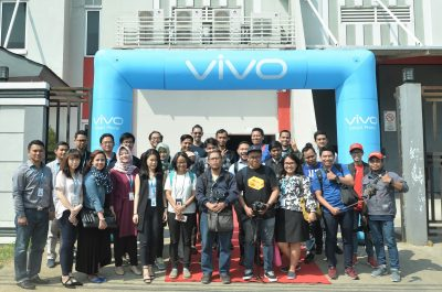 1. Pembukaan Factory Visit di Pabrik PT vivo Mobile Indonesia Cikupa, Tanggerang, Jawa Barat