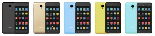 Haier G7 blue black gold yellow tosca