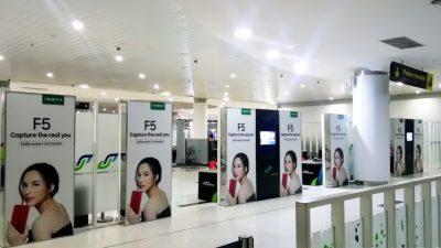 Promosional F5 di Bandara Balikpapan