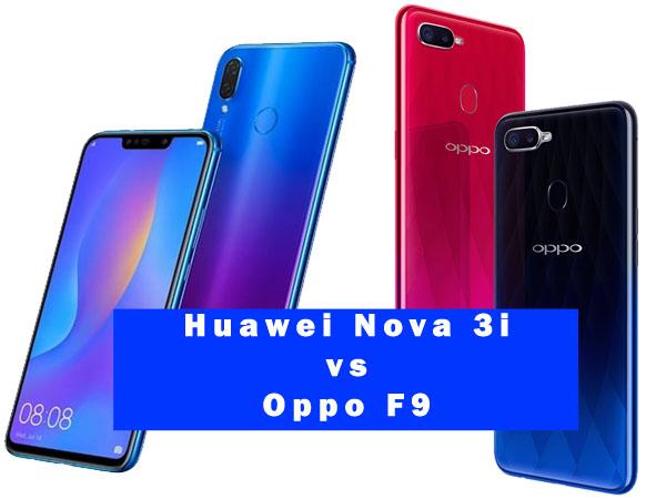 Perbandingan Umum Huawei Nova 3i Dan Oppo F9 Jagat Gadget