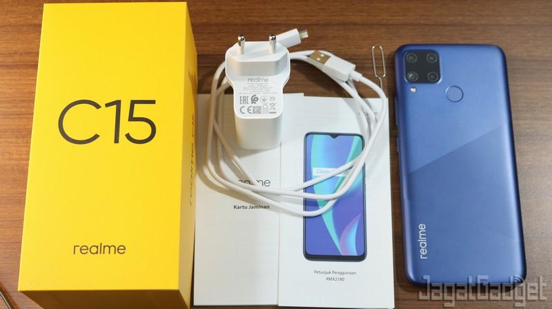 Review Realme C15 Hp Murah Baterai Besar Jagat Gadget
