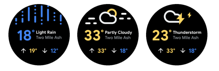 WearOS Weather
