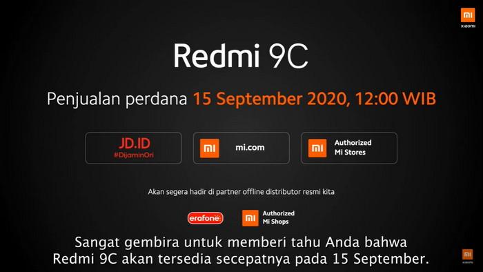 Harga Redmi 9C