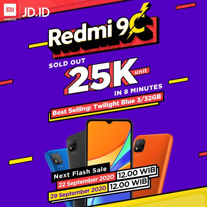 penjualan Redmi 9C