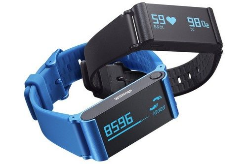 withings pulse o2 press