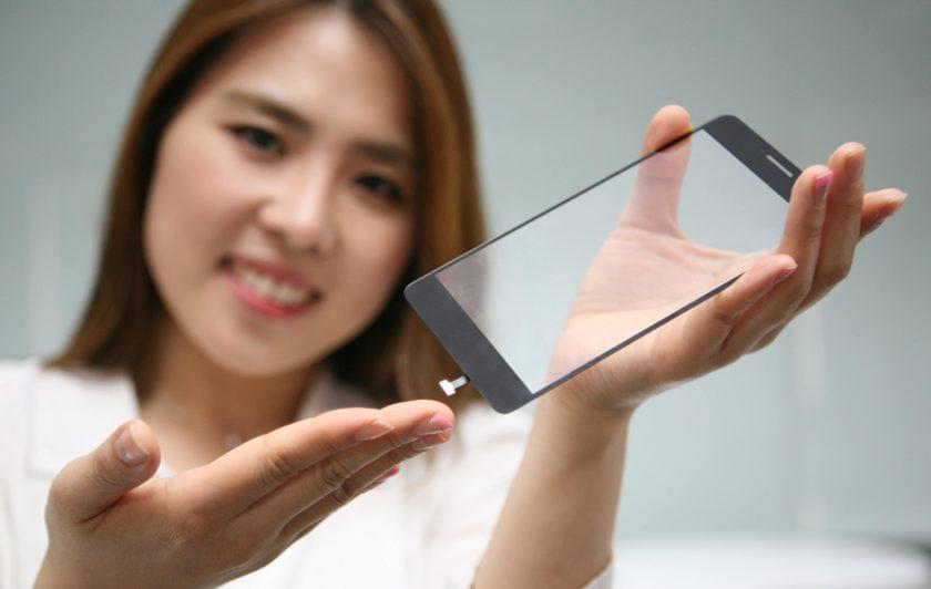 LG display fingerprit
