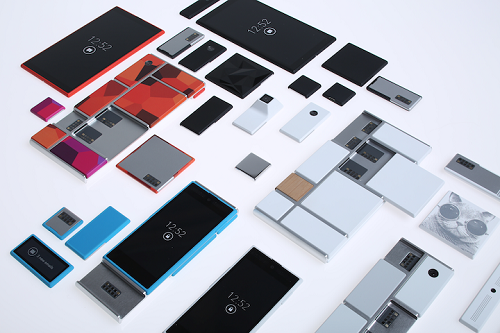 Project Ara scattered parts