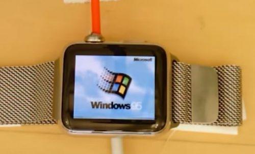 Win 95 Apple Watch