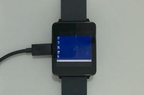 Windows 7 on LG G Watch