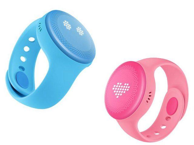 mi bunny smartwatch pink blue