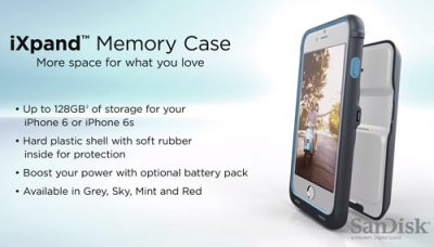 iXpand Memory Case