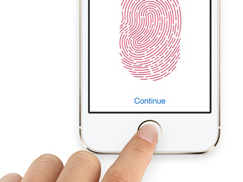 apple touch id finger