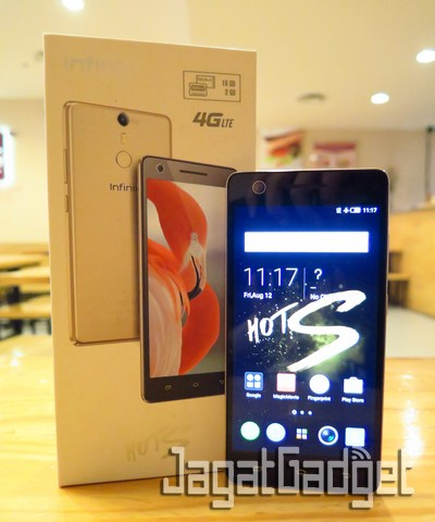 Review Smartphone Android: Infinix HOT S X521 (2GB)