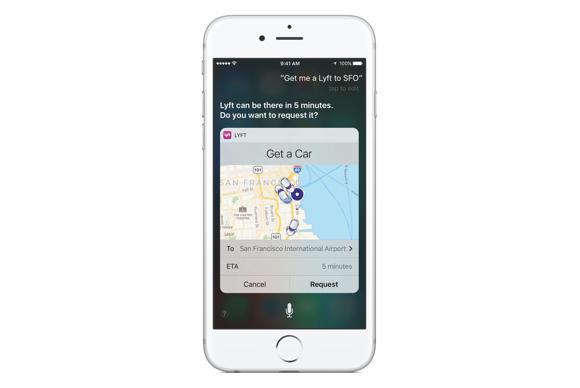 Siri iOS 10