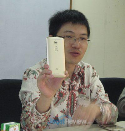 Yan Chang Zhi, VP Marketing ZTE Indonesia