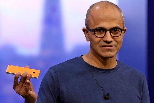 Nadella Windows 10 Mobile