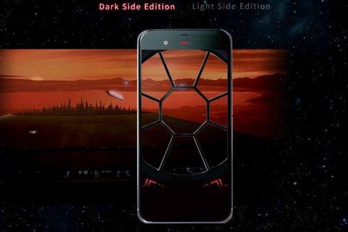 sharp star wars smartphone