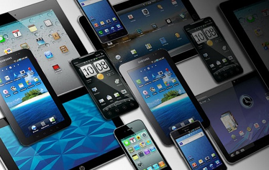 smartphone and tablet