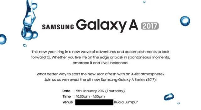 galaxy a 2017 invite