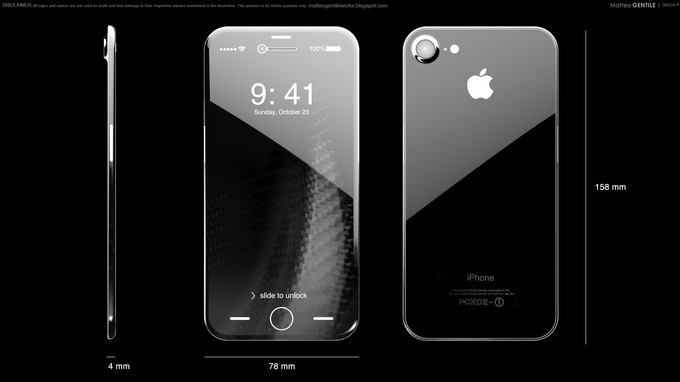 oled iphone 8 concept matteo gentile