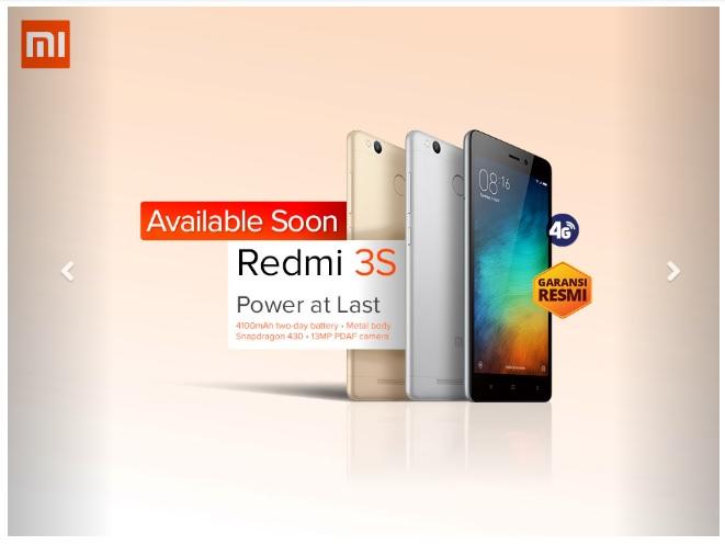 Erafone Redmi 3S