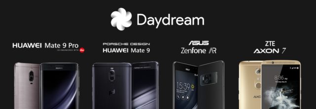 google daydream smartphone
