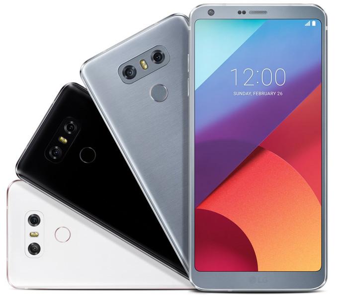 LG G6 three colors