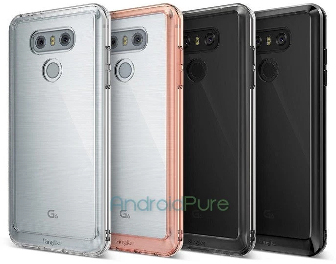 Leaked images of the LG G6 wearing a bumper case shows off the design of the flagship phone 1