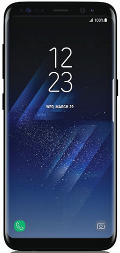 Samsung Galaxy S8 press render evleaks 01