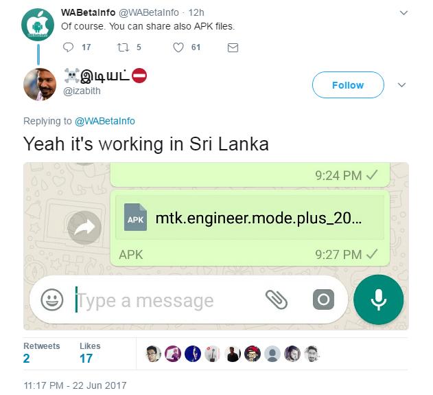Pengguna Whatsapp Akan Bisa Kirim Semua Format File Jagat Gadget