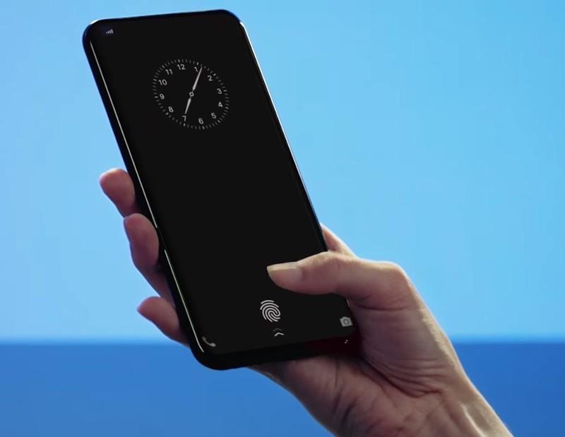 vivo on screen fingerprint