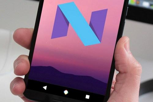 Android Nougat Navigation Bar