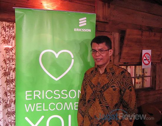 Ronni Nurmal, Vice President, Head of Network Product Uni Ericsson Indonesia & Timor Leste