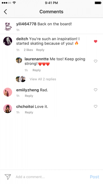 replies instagram