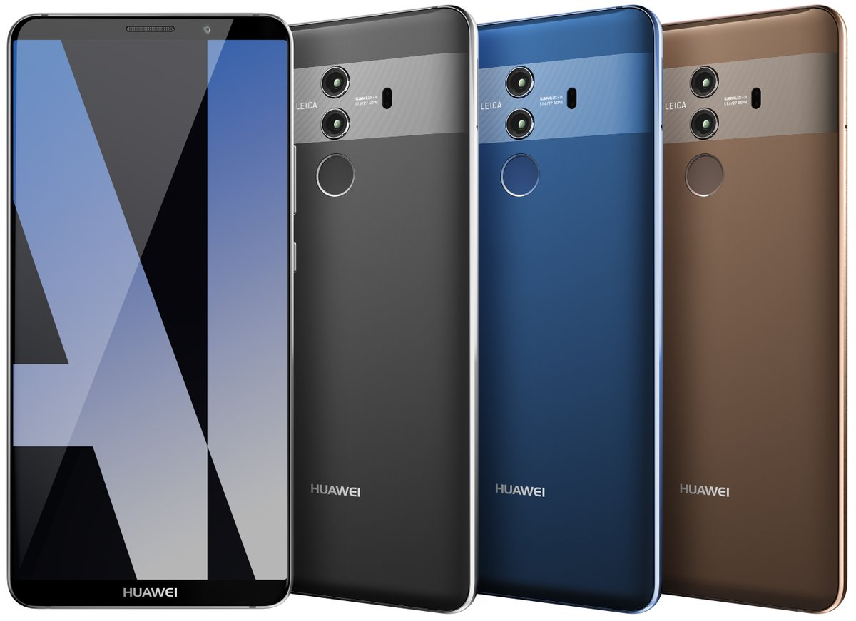 Huawei Mate 10 Pro new leak 3 colors 01