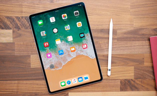 2018 iPad Pro renders