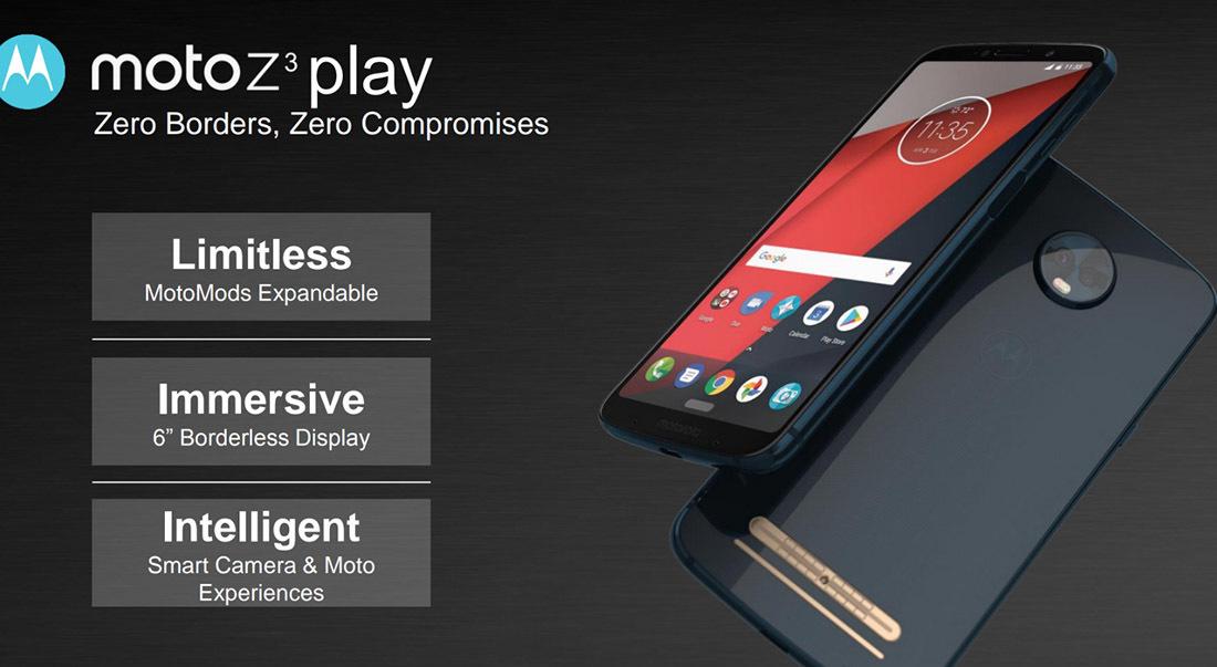 opMoto Z3 Play