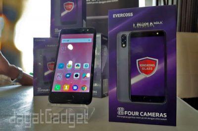 Evercoss U50A Max empat Kamera