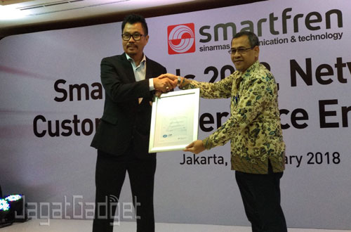 Smartrfren ISO 27001