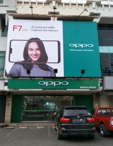 Billboard OPPO F7