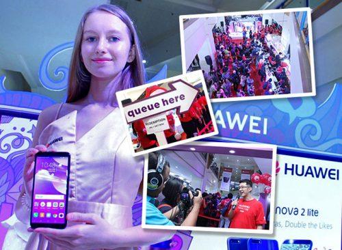 Huawei Nova 2 Lite Penjualan Perdana 1