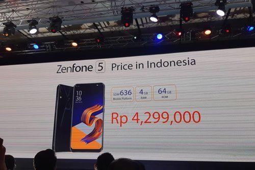 Zenfone 5 Price