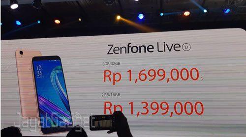 Zenfone live price