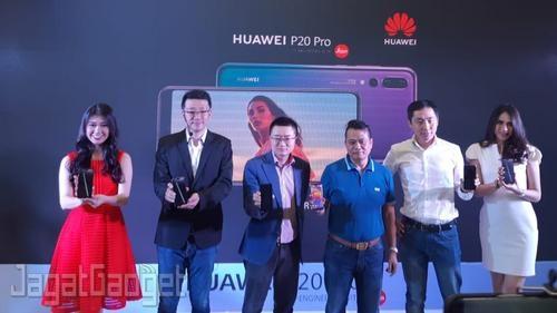 Launching Huawei P20 Pro 01