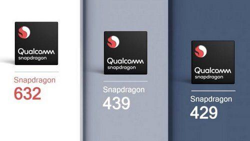 Qualcomm Announces Snapdragon 632 439 and 429 Mobile Platforms