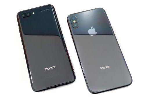 3 Honor 10 vs iPhone X