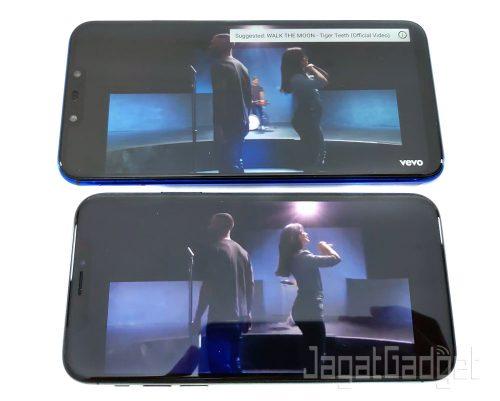 3 Nova 3i Vs iPhone X