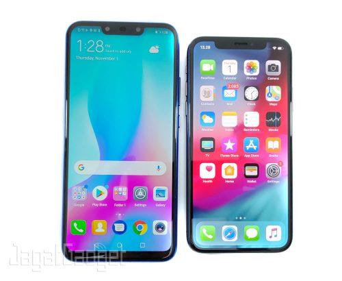 4 Nova 3i Vs iPhone X